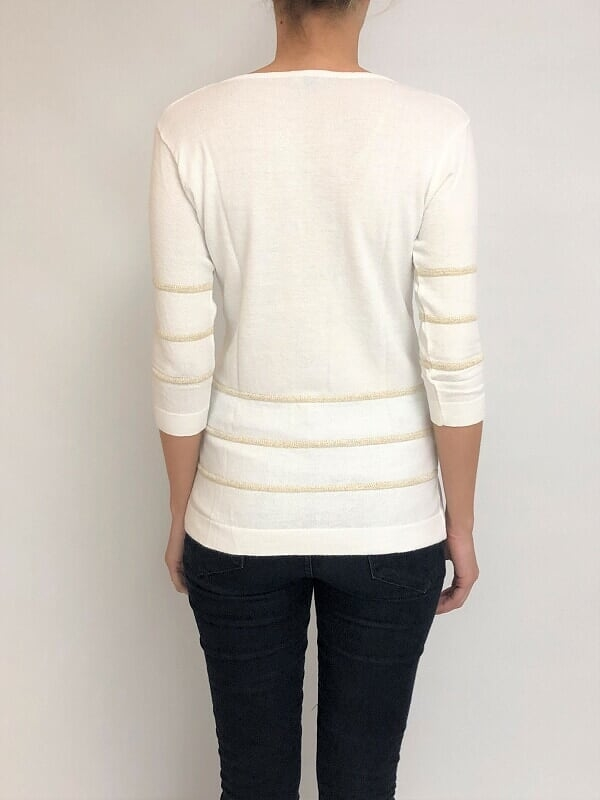 Sweater esc. v lurex (27754) en internet