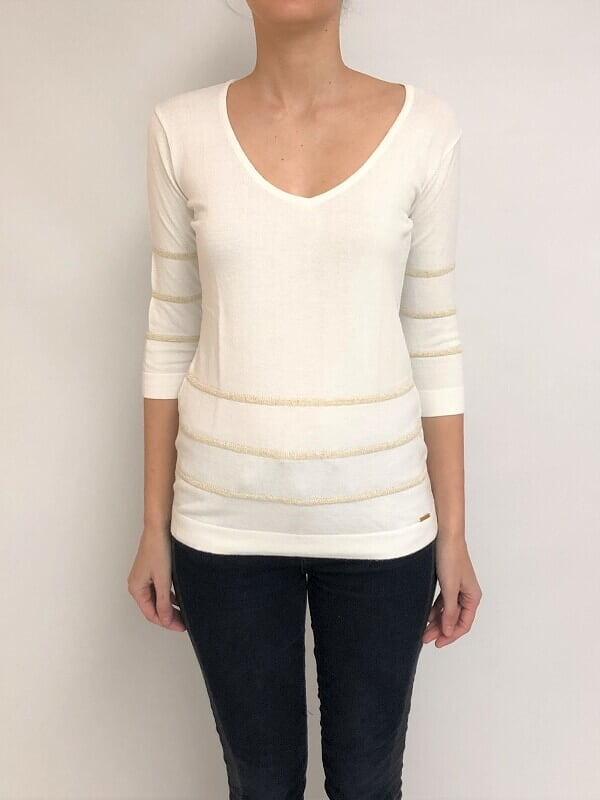 Sweater esc. v lurex (27754)