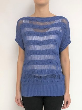 Remera Sweater rejilla (23507)