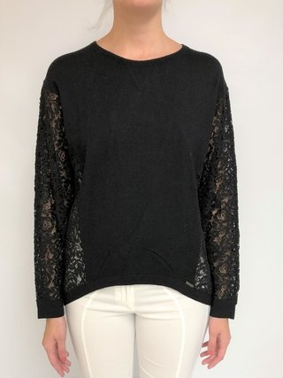 Sweater calado de costado (22801)