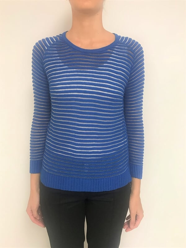 SWEATER C/LUREX TRANSPARENTE (21754)