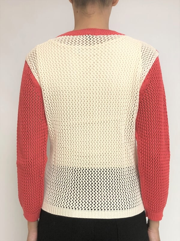 Sweater en red (21753) - garofalo