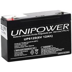 BATERIA 6V 12AH (UP6120) - UNIPOWER