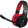 HEADSET GAMER GH-503 BLACK/RED BACKLIT GH503BK - XTRIKE-ME