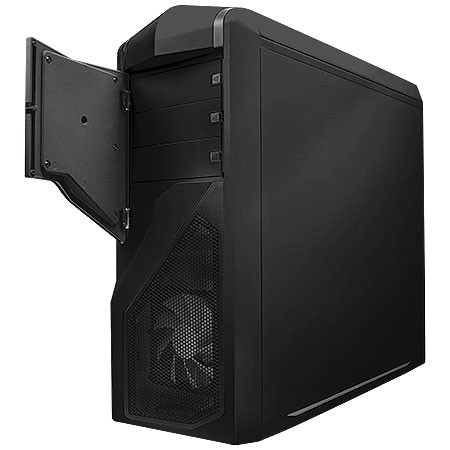 GABINETE MID-TOWER PHANTOM 410 PRETO LATERAL EM ACRILICO - CA-PH410-B1 - NZXT