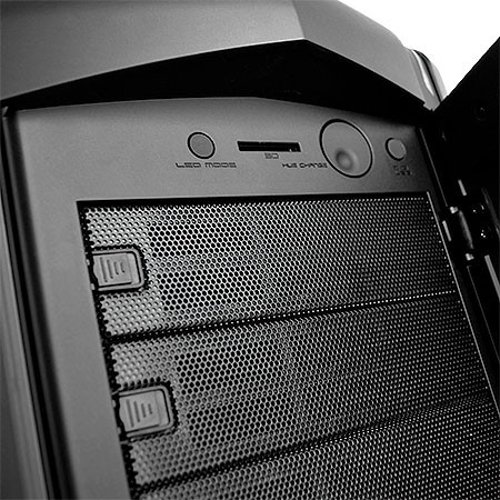 GABINETE ULTRA-TOWER PHANTOM 820 PRETO LATERAL EM ACRÍLICO C/CONTROLADOR DE LED - CA-PH820-M1 - NZXT