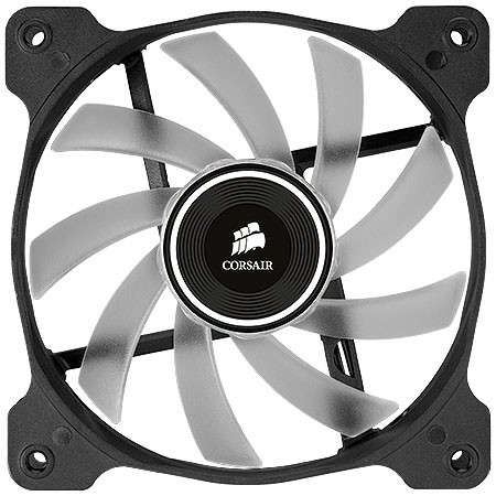 FAN PARA GABINETE AIR SERIES AF120 QUIET EDITION COM LED BRANCO - 120MM X 25MM - CO-9050015-WLED - CORSAIR - comprar online