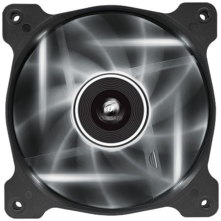 FAN PARA GABINETE AIR SERIES AF120 QUIET EDITION COM LED BRANCO - 120MM X 25MM - CO-9050015-WLED - CORSAIR na internet