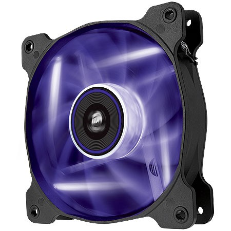 FAN PARA GABINETE AIR SERIES AF120 QUIET EDITION COM LED ROXO - 120MM X 25MM - CO-9050015-PLED - CORSAIR