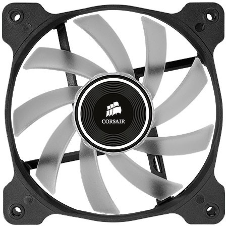 FAN PARA GABINETE AIR SERIES AF120 QUIET EDITION COM LED ROXO - 120MM X 25MM - CO-9050015-PLED - CORSAIR - comprar online
