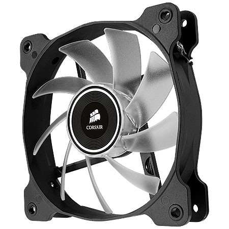 FAN PARA GABINETE AIR SERIES AF120 QUIET EDITION COM LED ROXO - 120MM X 25MM - CO-9050015-PLED - CORSAIR - Preech Informática - Informática e suas tecnologias