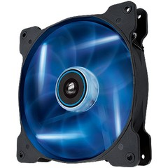 FAN PARA GABINETE AIR SERIES AF140 QUIET EDITION COM LED AZUL - 140MM X 25MM CO-9050017-BLED - CORSAIR