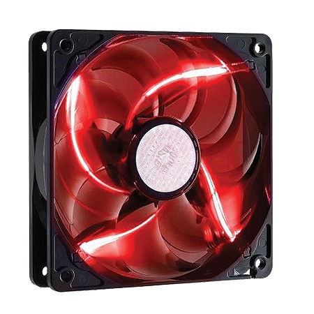 FAN P/ GABINETE SICKLEFLOW-X 120MM LED VERMELHO - R4-SXDP-20FR-R1 - COOLER MASTER