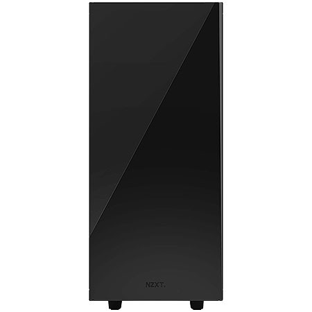 GABINETE MID-TOWER S340 PRETO - LATERAL EM ACRÍLICO - CA-S340W-B1 - NZXT - comprar online