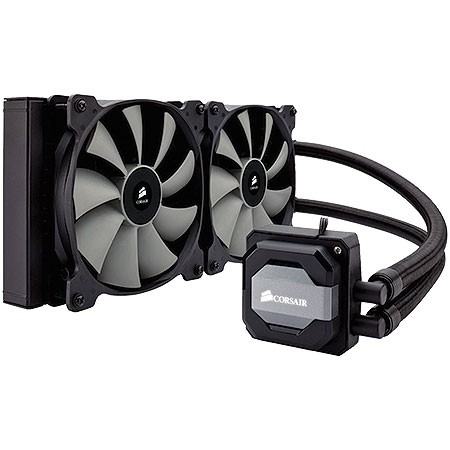WATER COOLER HYDRO SERIES - H110I GT - RADIADOR 280MM HIGH PERFORMANCE CW-9060019-WW - CORSAIR