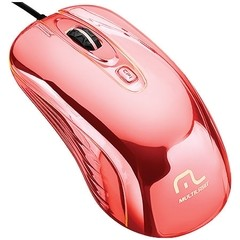 Imagem do MOUSE WARRIOR GAME PRATEADO COM LED USB MO228 800/1200/1600DPI - MULTILASER