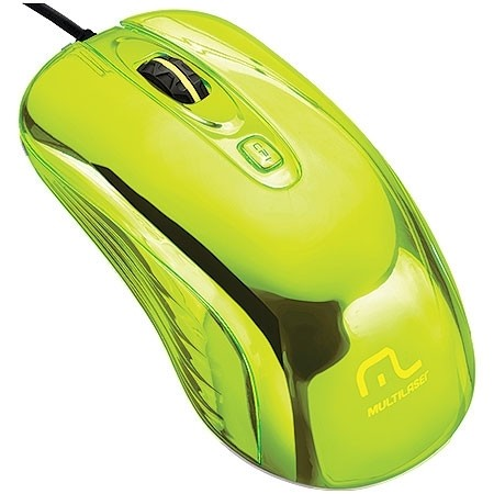 MOUSE WARRIOR GAME PRATEADO COM LED USB MO228 800/1200/1600DPI - MULTILASER