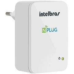 REPETIDOR WIRELESS N 150MBPS NPLUG N150 - INTELBRAS