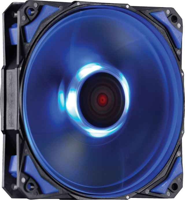 COOLER FAN PARA GABINETE 120MM FURY F4 LED AZUL - F4120LDAZ