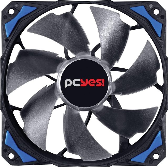 COOLER FAN PARA GABINETE 120MM FURY F4 LED AZUL - F4120LDAZ - loja online