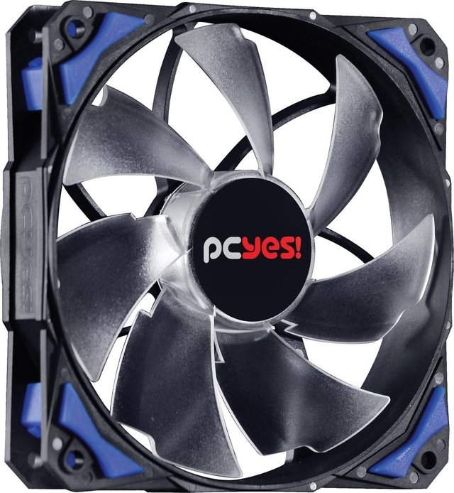 Imagem do COOLER FAN PARA GABINETE 120MM FURY F4 LED AZUL - F4120LDAZ