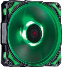 COOLER FAN PARA GABINETE 120MM FURY F4 LED VERDE - F4120LDVD