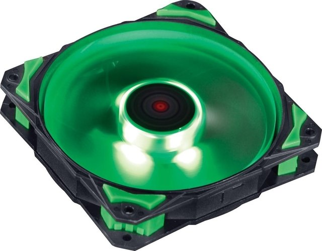 COOLER FAN PARA GABINETE 120MM FURY F4 LED VERDE - F4120LDVD na internet