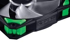 Imagem do COOLER FAN PARA GABINETE 120MM FURY F4 LED VERDE - F4120LDVD