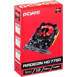 PLACA DE VIDEO AMD RADEON HD 7750 1GB GDDR5 128 BITS - O775PFB15R - PCYES - comprar online