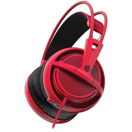FONE DE OUVIDO HEADSET SIBERIA 200 GAMING FORGED RED - 51135 - STEELSERIES - comprar online