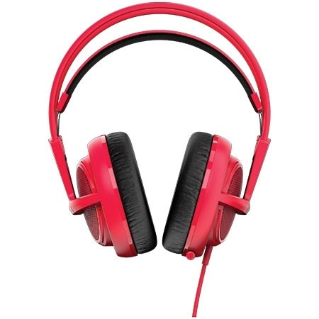 FONE DE OUVIDO HEADSET SIBERIA 200 GAMING FORGED RED - 51135 - STEELSERIES na internet