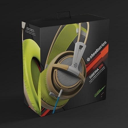 FONE DE OUVIDO HEADSET SIBERIA 200 GAMING GAIA GREEN - 51137 - STEELSERIES - comprar online