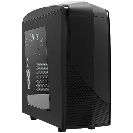 GABINETE MID-TOWER PHANTOM 240 PRETO LATERAL EM ACRÍLICO - CA-PH240-B7 - NZXT