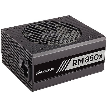 FONTE ATX RM850X 850W MODULAR 80PLUS GOLD - CP-9020093-WW - CORSAIR