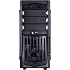 GABINETE MIDTOWER VX GAMING THUNDER V2 PRETO FAN FRONTAL 120MM LED BRANCO, USB 3.0 E JANELA ACRÍLICO - VINIK - comprar online