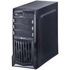 GABINETE MIDTOWER VX GAMING THUNDER V2 PRETO FAN FRONTAL 120MM LED BRANCO, USB 3.0 E JANELA ACRÍLICO - VINIK na internet
