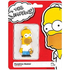 PENDRIVE SIMPSONS HOMER 8GB PD070 - MULTILASER na internet