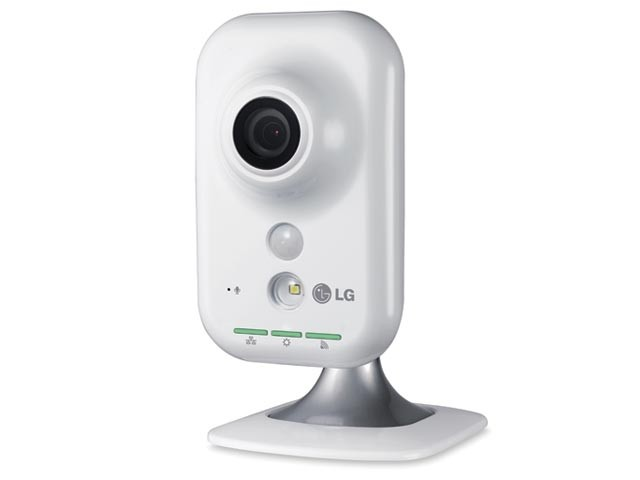 CAMERA LG SECURITY LW130W-D IP COMPACTA WIRELESS/RJ45 HD 1280X720P 30FPS