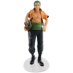 BONECO COLECIONÁVEL ONE PIECE DRAMATIC SHOWCASE 3RD SEASON VOL. 1 RONOROA ZORO - BANDAI BANPRESTO
