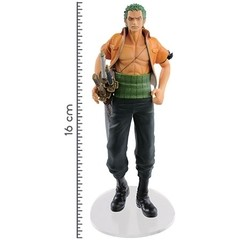 BONECO COLECIONÁVEL ONE PIECE DRAMATIC SHOWCASE 3RD SEASON VOL. 1 RONOROA ZORO - BANDAI BANPRESTO - comprar online