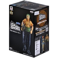 BONECO COLECIONÁVEL ONE PIECE DRAMATIC SHOWCASE 3RD SEASON VOL. 1 RONOROA ZORO - BANDAI BANPRESTO na internet