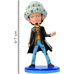 BONECO COLECIONÁVEL ONE PIECE WCF LOG COLLECTION VOL.1 LAW - BANDAI BANPRESTO - comprar online