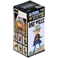 BONECO COLECIONÁVEL ONE PIECE WCF LOG COLLECTION VOL.1 LAW - BANDAI BANPRESTO na internet