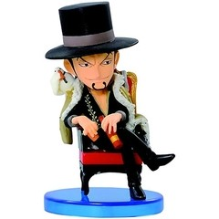 BONECO COLECIONÁVEL ONE PIECE WCF LOG COLLECTION VOL.1 LUCCI - BANDAI BANPRESTO