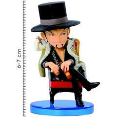 BONECO COLECIONÁVEL ONE PIECE WCF LOG COLLECTION VOL.1 LUCCI - BANDAI BANPRESTO - comprar online