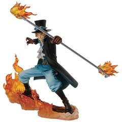 BONECO COLECIONÁVEL ONE PIECE DXF BROTHERHOOD II SABO - BANDAI BANPRESTO