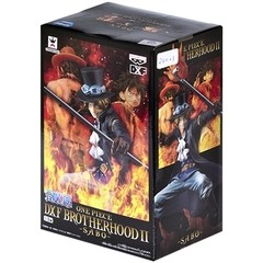 BONECO COLECIONÁVEL ONE PIECE DXF BROTHERHOOD II SABO - BANDAI BANPRESTO na internet