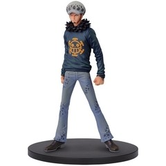 BONECO COLECIONÁVEL ONE PIECE DXF GRANDLINE MEN VOL. 22 LAW - BANDAI BANPRESTO