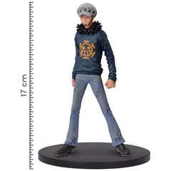BONECO COLECIONÁVEL ONE PIECE DXF GRANDLINE MEN VOL. 22 LAW - BANDAI BANPRESTO - comprar online