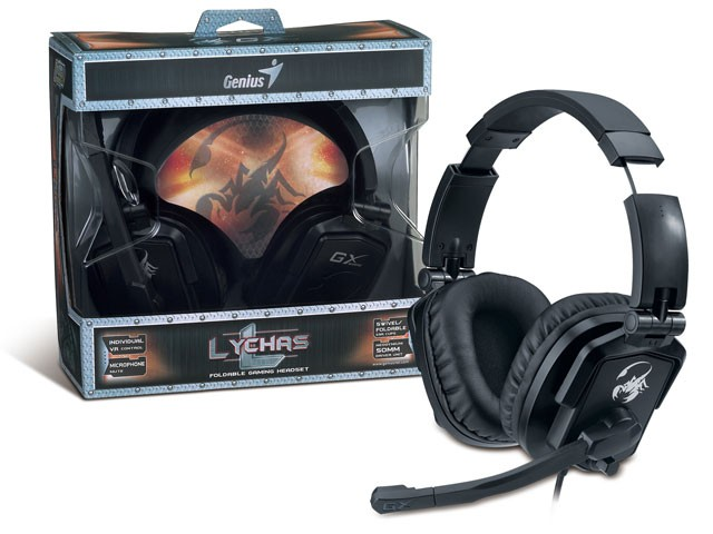 HEADSET GX GAMING GENIUS 31710040101 HS-G550 LYCHAS 2.0CH DRIVER 50MM VOL/MIC/MUT